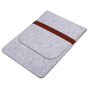 Войлочный мешок с двумя внутренними карманами для планшета 11 дюймов Белый