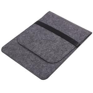 Войлочный мешок с двумя внутренними карманами для планшета 11 дюймов Серый