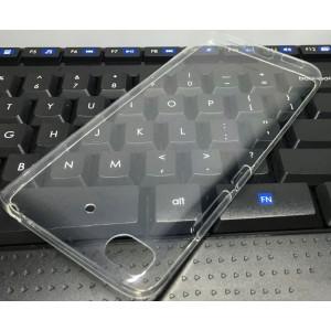 Силиконовый глянцевый транспарентный чехол для Xiaomi Mi5S