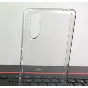 Силиконовый глянцевый транспарентный чехол для Sony Xperia L3