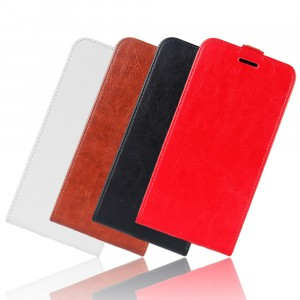 Чехол вертикальная книжка на силиконовой основе с отсеком для карт на магнитной защелке для Samsung Galaxy A20/A30