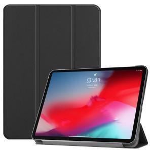 Сегментарный чехол книжка на непрозрачной поликарбонатной основе для Ipad Pro 10.5/Ipad Air (2019) Черный