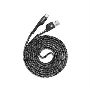 Кабель Lightning Baseus Confidant Anti-break Cable 1M Black Черный