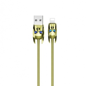 Кабель Lightning Hoco U30 Желтый