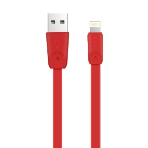 USB кабель HOCO X9 для Apple 1м Красный