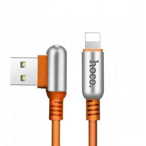 Кабель Lightning HOCO U17 для Apple 1,2 м Коричневый