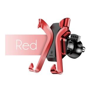 Автомобильный держатель для смартфона BASEUS Красный