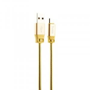 Micro-USB кабель Hoco U27 Желтый
