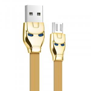 Micro USB кабель HOCO U14 1,2 м Цвет: Золотой Желтый
