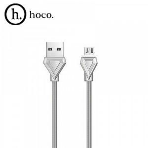 USB кабель micro HOCO U25 1 м Серый