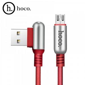 microUSB кабель HOCO U17 1,2 м Красный