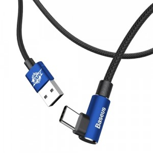 USB For Micro Baseus MVP Elbow Type Cable 2A 1M Blue Синий
