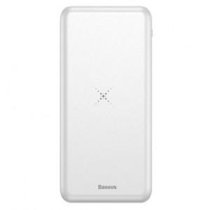 Внешний аккумулятор Baseus Power Bank M36 Wireless charger Беспроводная зарядка 10000 mAh Серый