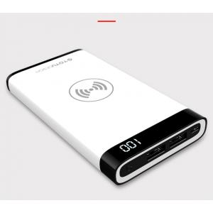 Внешний аккумулятор Totu Design Vast с беспроводной зарядкой 8000мАч Белый