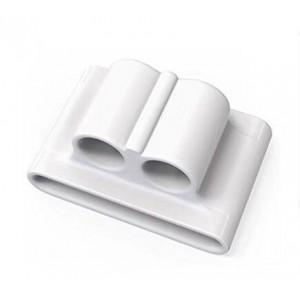 Силиконовый держатель-браслет для наушников Apple AirPods Белый