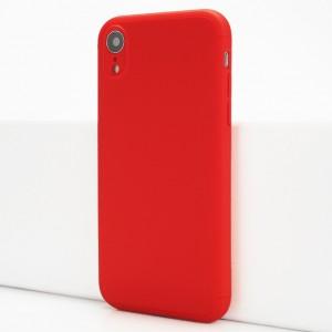 Двухкомпонентный сборный пластиковый матовый чехол для Iphone Xr Красный