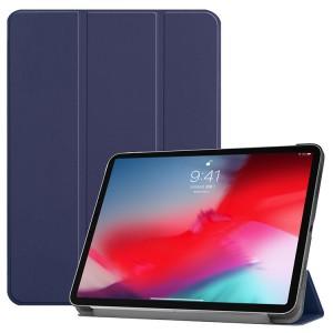 Сегментарный чехол книжка подставка на непрозрачной поликарбонатной основе для Ipad Mini (2019)/iPad mini 4 Синий
