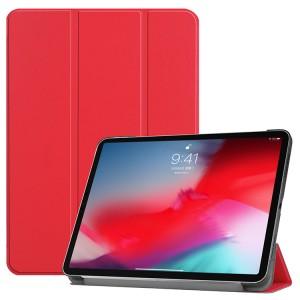 Сегментарный чехол книжка подставка на непрозрачной поликарбонатной основе для Ipad Mini (2019)/iPad mini 4 Красный