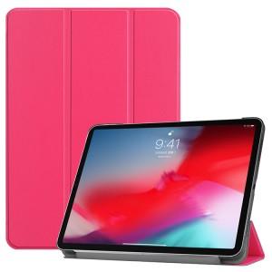 Сегментарный чехол книжка подставка на непрозрачной поликарбонатной основе для Ipad Mini (2019)/iPad mini 4 Пурпурный