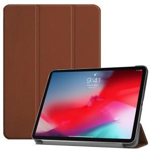 Сегментарный чехол книжка подставка на непрозрачной поликарбонатной основе для Ipad Mini (2019)/iPad mini 4 Коричневый