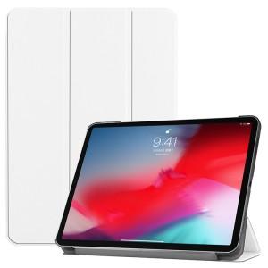 Сегментарный чехол книжка подставка на непрозрачной поликарбонатной основе для Ipad Mini (2019)/iPad mini 4 Белый