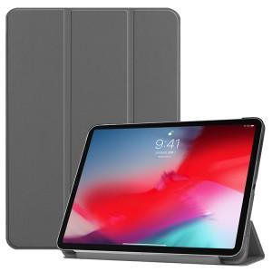 Сегментарный чехол книжка подставка на непрозрачной поликарбонатной основе для Ipad Mini (2019)/iPad mini 4 Серый