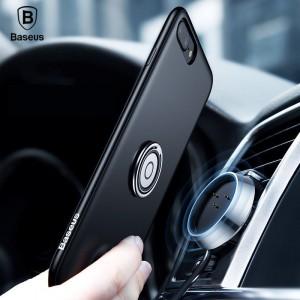 Беспроводное зарядное устройство-чехол Baseus Magnetic Wireless Charging Multi-function case Черный