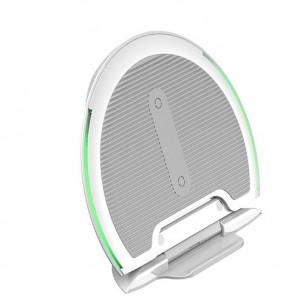 Беспроводное зарядное устройство Baseus Collapsible Qi Белый