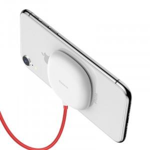 Беспроводное зарядное устройство Baseus Suction Cup Wireless Charger 10W Белый