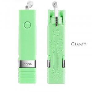 Монопод для селфи Hoco K3 Beauty Зеленый