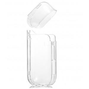 Пластиковый глянцевый транспарентный чехол для IQOS 2