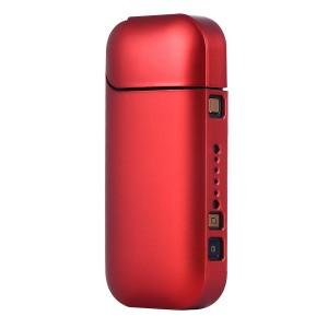 Пластиковый матовый непрозрачный чехол для IQOS 2 Красный