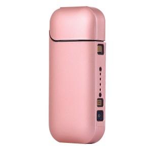 Пластиковый матовый непрозрачный чехол для IQOS 2 Розовый