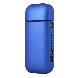 Пластиковый матовый непрозрачный чехол для IQOS 2 Синий