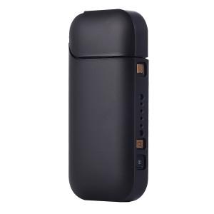 Пластиковый матовый непрозрачный чехол для IQOS 2 Черный