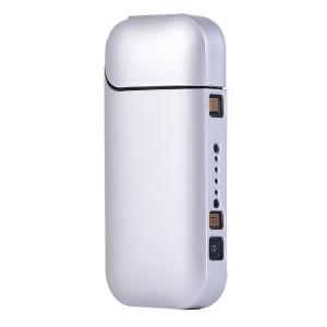Пластиковый матовый непрозрачный чехол для IQOS 2 Белый