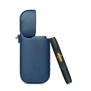 Кожаный чехол для IQOS 2 Синий