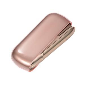 Силиконовый глянцевый полупрозрачный чехол для IQOS 3.0 Розовый