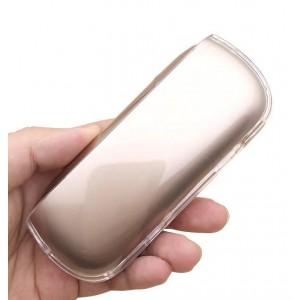 Пластиковый глянцевый полупрозрачный чехол для IQOS 3.0 Белый