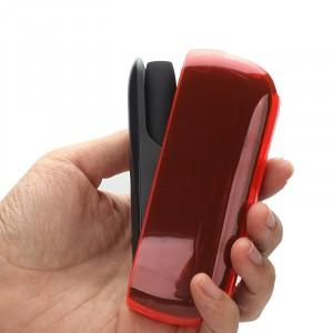 Пластиковый глянцевый полупрозрачный чехол для IQOS 3.0 Красный