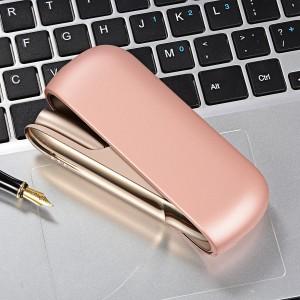 Пластиковый матовый непрозрачный чехол для IQOS 3.0 Розовый