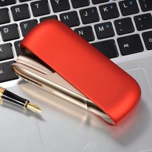 Пластиковый матовый непрозрачный чехол для IQOS 3.0 Красный