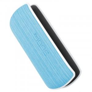 Пластиковый чехол текстура Ткань IQOS 3.0 Голубой