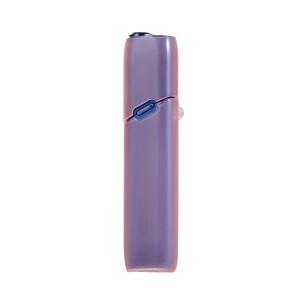 Противоударный силиконовый глянцевый полупрозрачный чехол с ушком для ремешка для IQOS 3 Multi Розовый