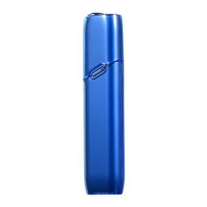 Тонкий пластиковый глянцевый полупрозрачный чехол для IQOS 3 Multi Синий