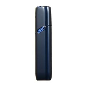Тонкий пластиковый глянцевый полупрозрачный чехол для IQOS 3 Multi Черный