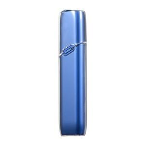 Тонкий пластиковый глянцевый полупрозрачный чехол для IQOS 3 Multi Белый