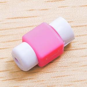 Противоизносный кабельный зажим дизайн Леденец Розовый