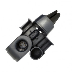 Автомобильный держатель на вентиляционную решетку с функцией зарядного устройства для IQOS 2/3 Черный