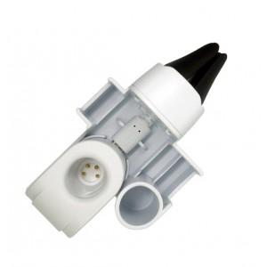 Автомобильный держатель на вентиляционную решетку с функцией зарядного устройства для IQOS 2/3 Белый